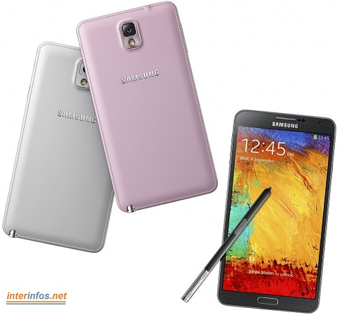 Samsung Galaxy Note 3 – Caractéristiques