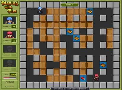 Bomberman gratuit: Jouer avec le feu