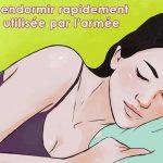 Comment dormir rapidement en 1 minute : L'armée américaine utilise cette technique