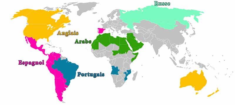 la langue la plus parlée au monde